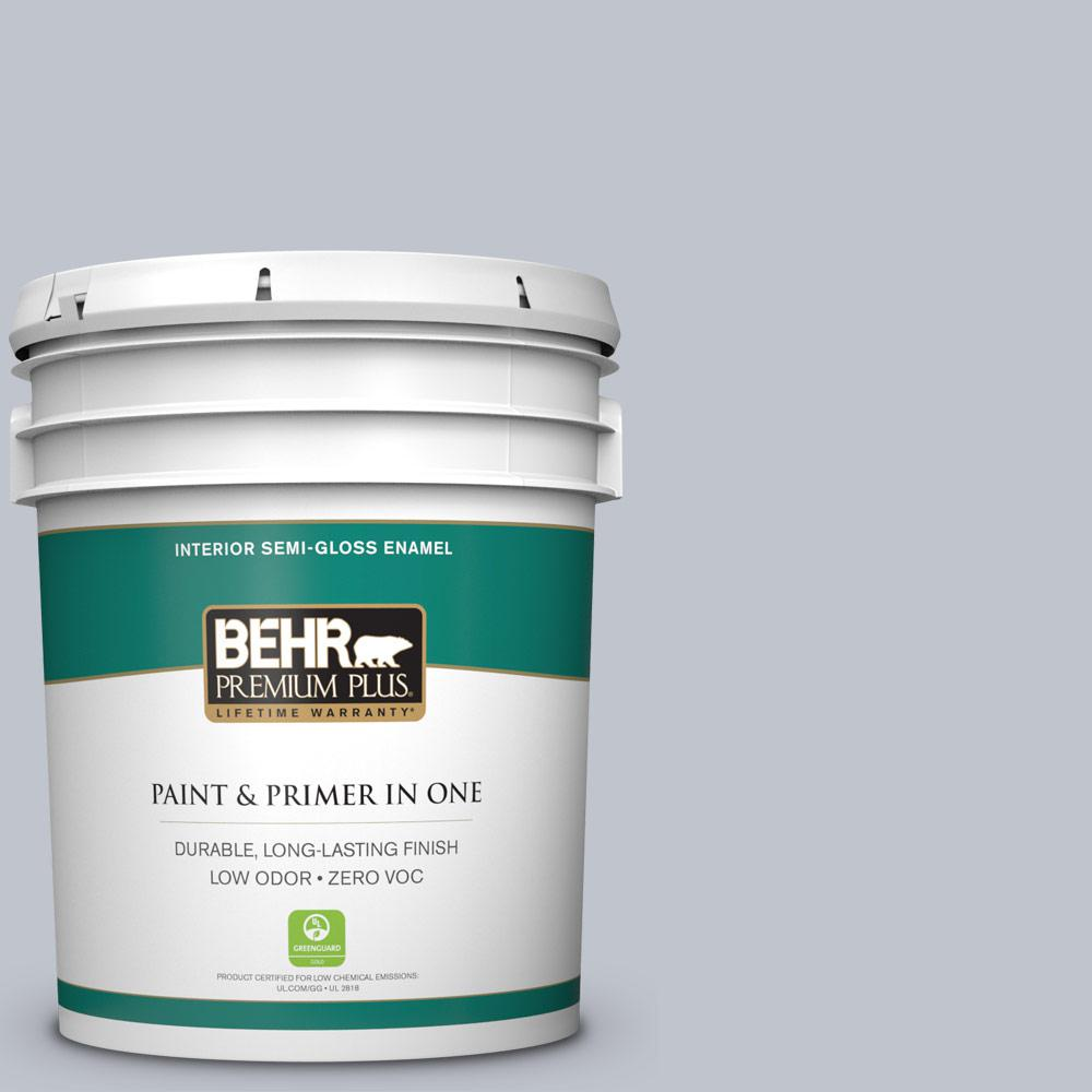 BEHR Premium Plus 5-gal. #N540-2 Glitter Semi-Gloss Enamel Interior Paint