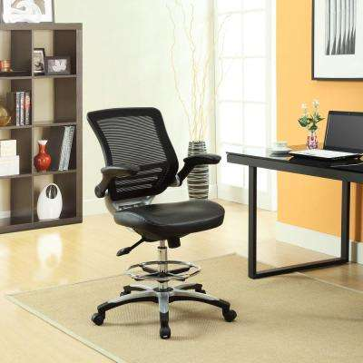 Edge Drafting Stool in Black
