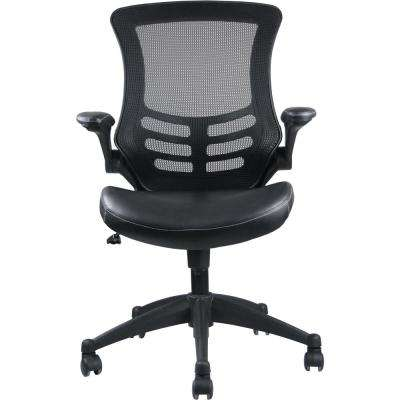 Intrepid High-Back Black Office Chair