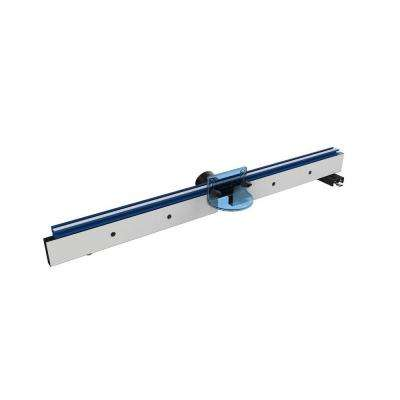 Precision Router Table Fence