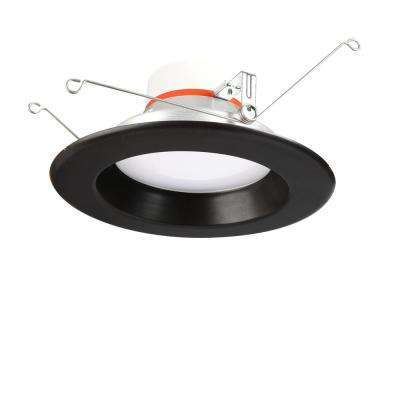 5 in. and 6 in. Selectable Integrated LED Recessed Interchangeable Trim