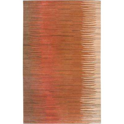 B. Smith Brown 5 ft. x 8 ft. Area Rug