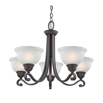 Hamilton 5-Light Oil-Rubbed Bronze Chandelier