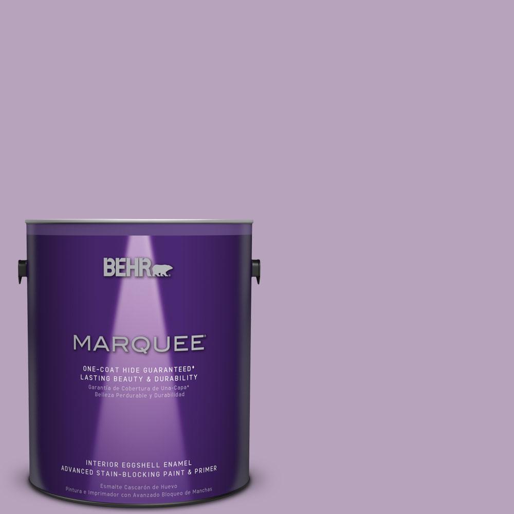 1 gal. #M100-3 Svelte One-Coat Hide Eggshell Enamel Interior Paint