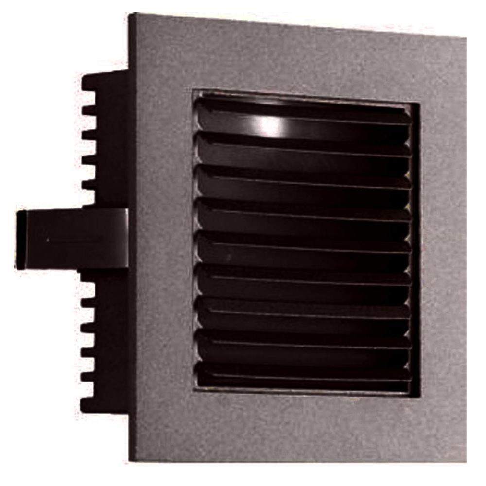 Filament Design Spectra 1-Light Outdoor Bronze Step Light