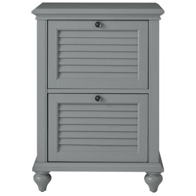 Hamilton 2-Drawer Grey File Cabinet