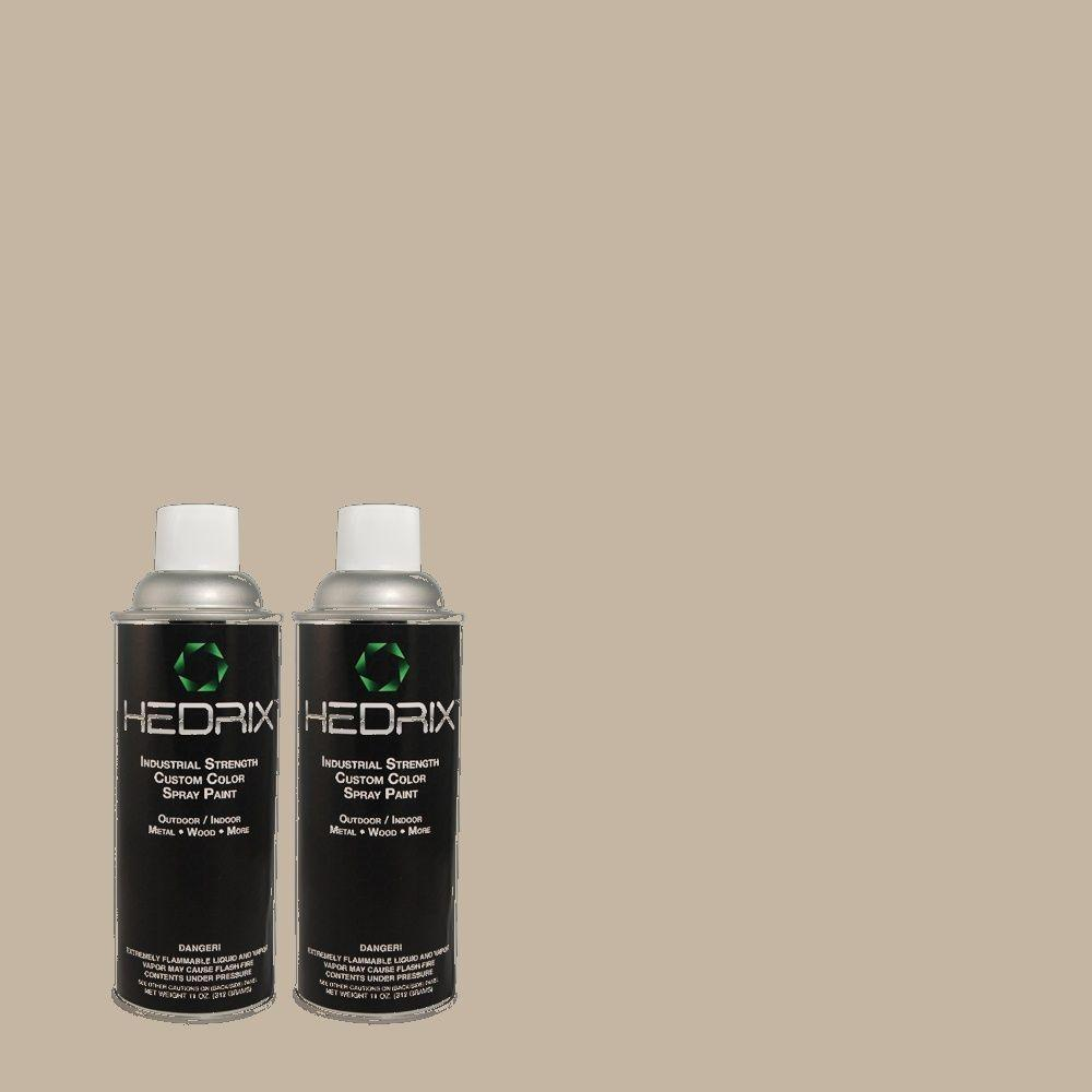 Hedrix 11 oz. Match of MQ2-55 Park Avenue Gloss Custom Spray Paint (8-Pack)