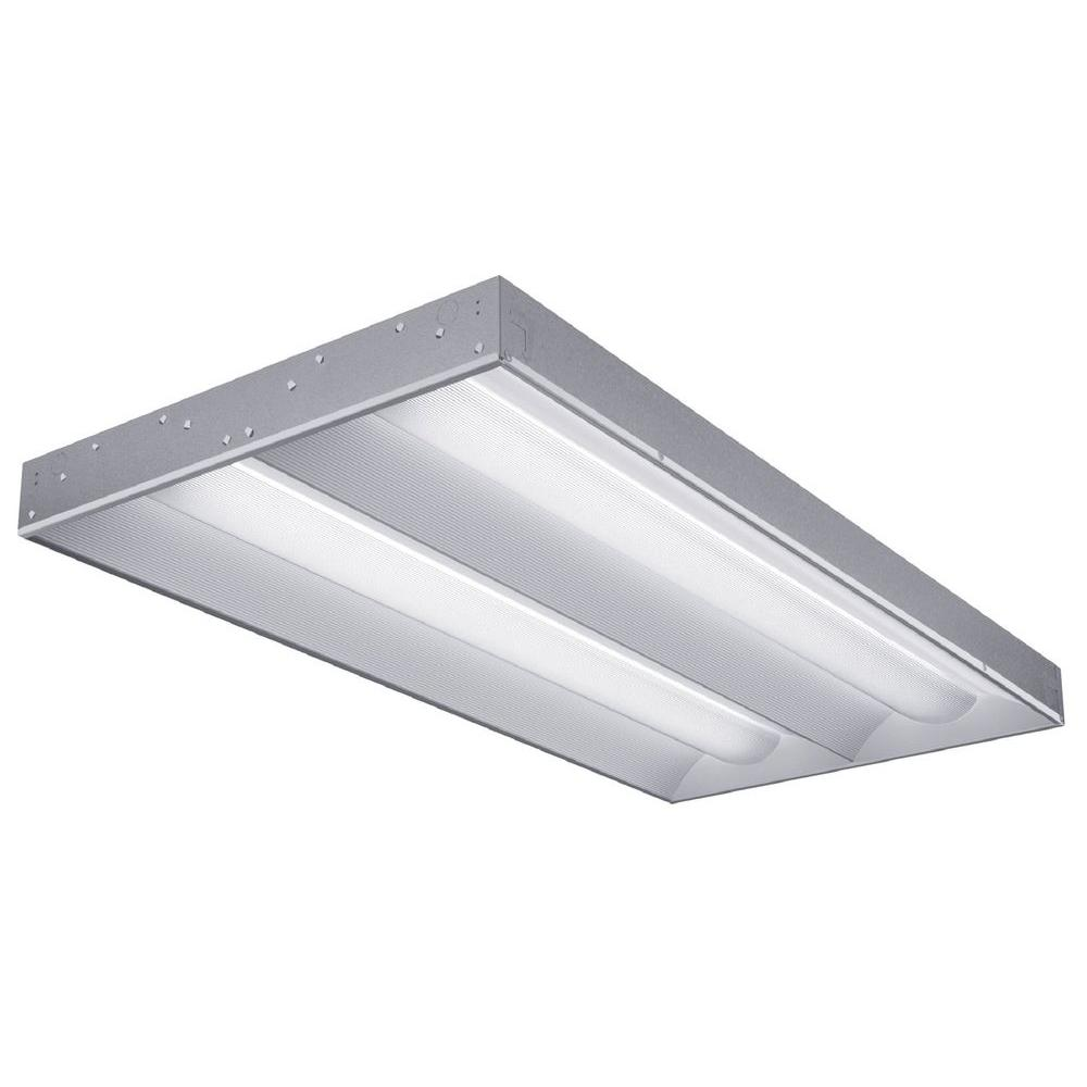 Lithonia Lighting 2-Light White Fluorescent Architectural