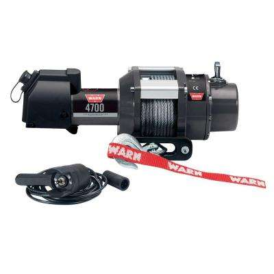 4700 lbs. 12-Volt DC Utility Winch