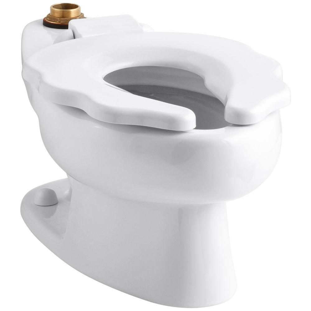 Kohler Primary Elongated Toilet Bowl Only in White by KOHLER
