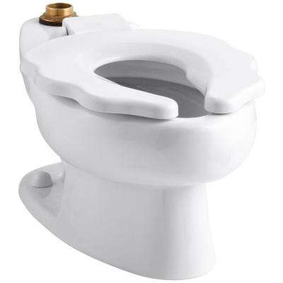 Primary Elongated Toilet Bowl Only in White