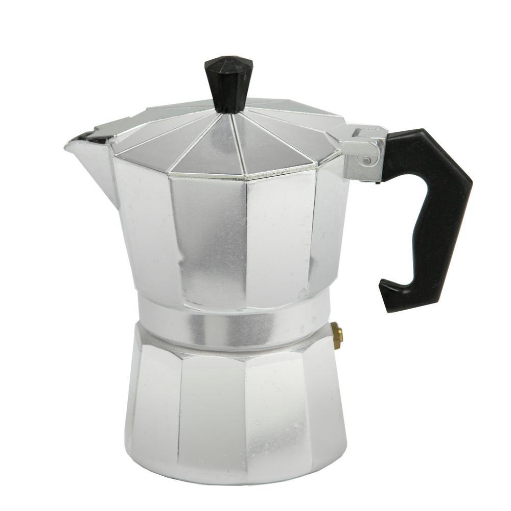 3-Cup Aluminum Stovetop Espresso Machine