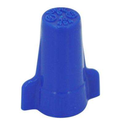 454 Blue Wing-Nut Wire Connectors (25-Pack)