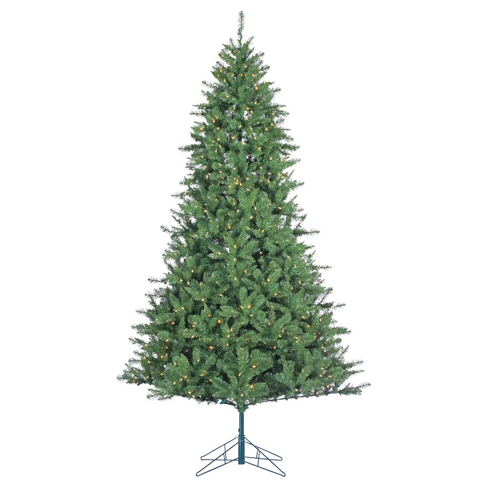 STERLING 7.5 ft. Indoor Pre-Lit LED Allegheny Pine Artificial ...