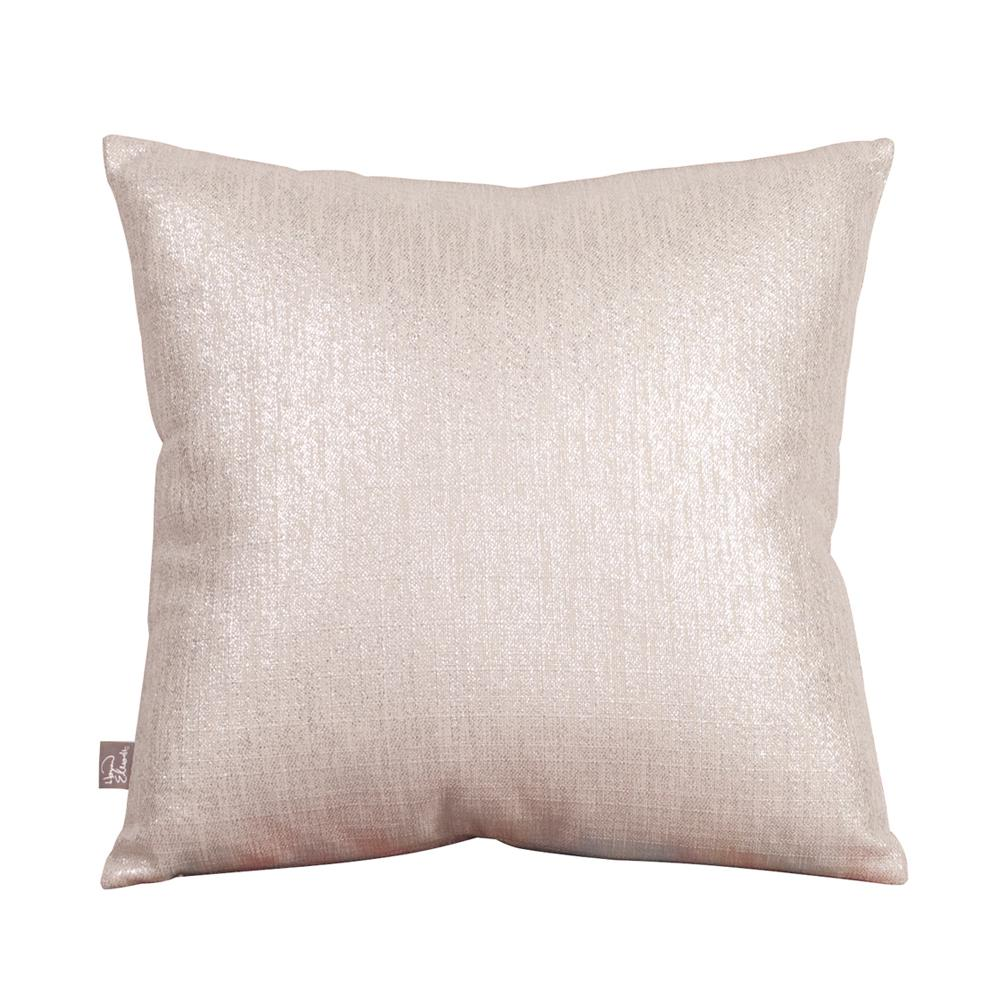 Glam Beige Sand 16 in. x 16 in. Decorative Pillows