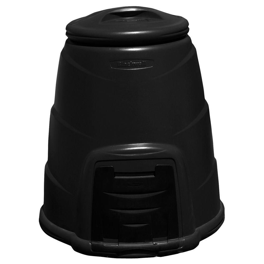 null RTS Home Accents Compost Converter 58 USG - Black