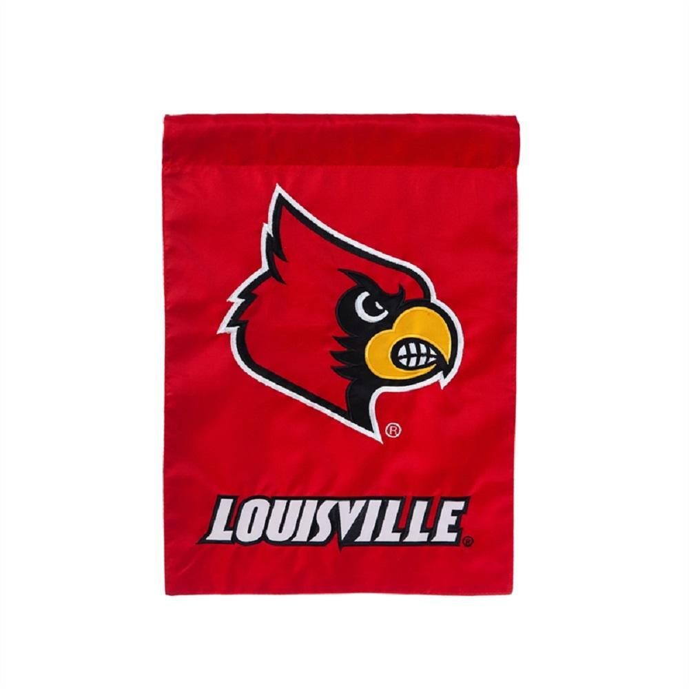 1 ft. x 1-1/2 ft. University of Louisville 2-Sided Garden Flag