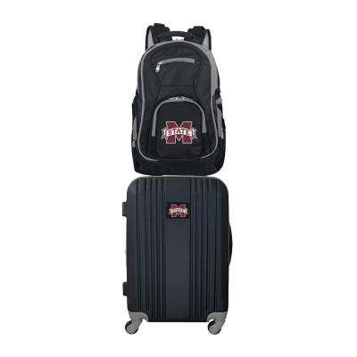 NCAA Mississippi State Bulldogs 2-Piece Set Luggage and Backpack