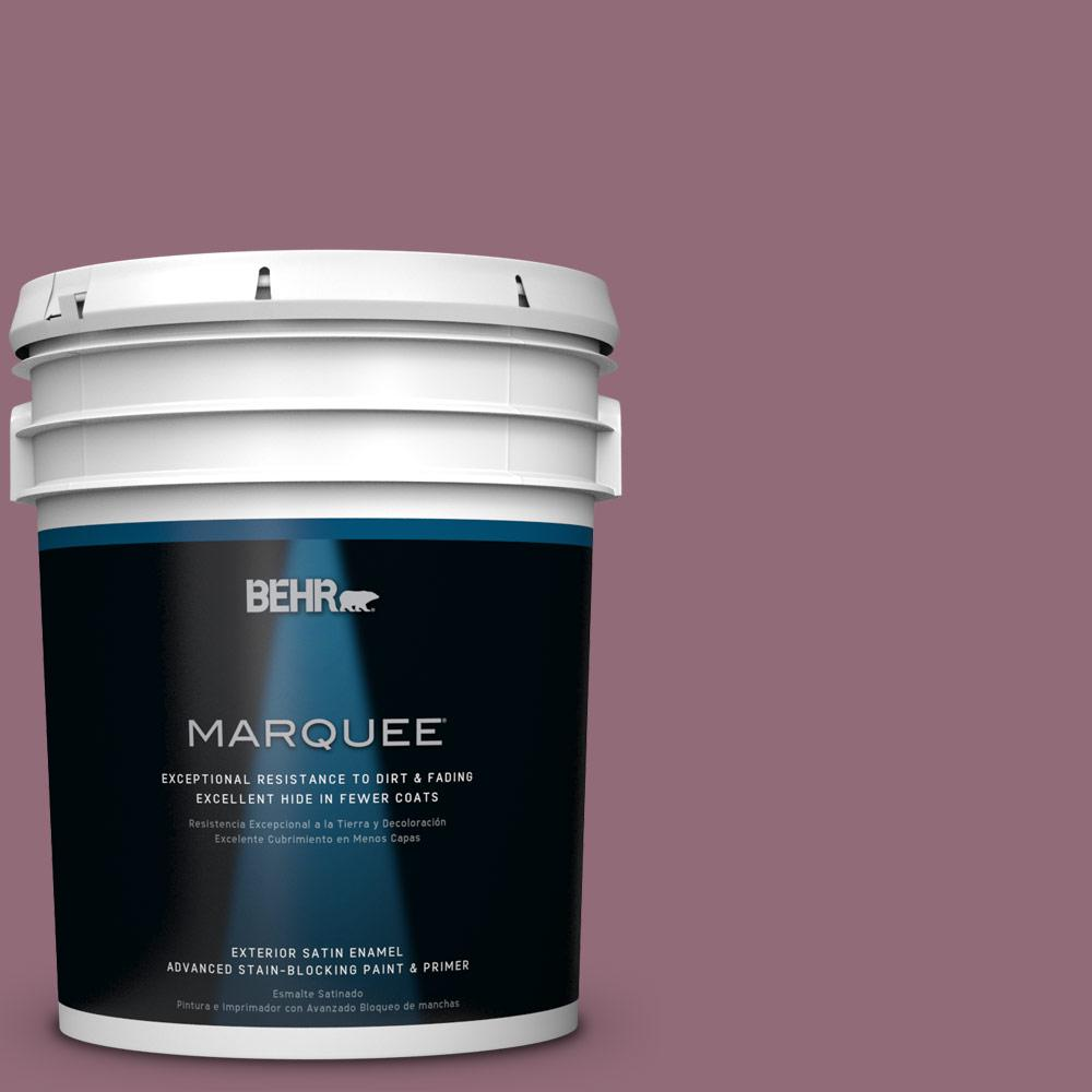 BEHR MARQUEE 5-gal. #S120-6 Full Glass Satin Enamel Exterior Paint