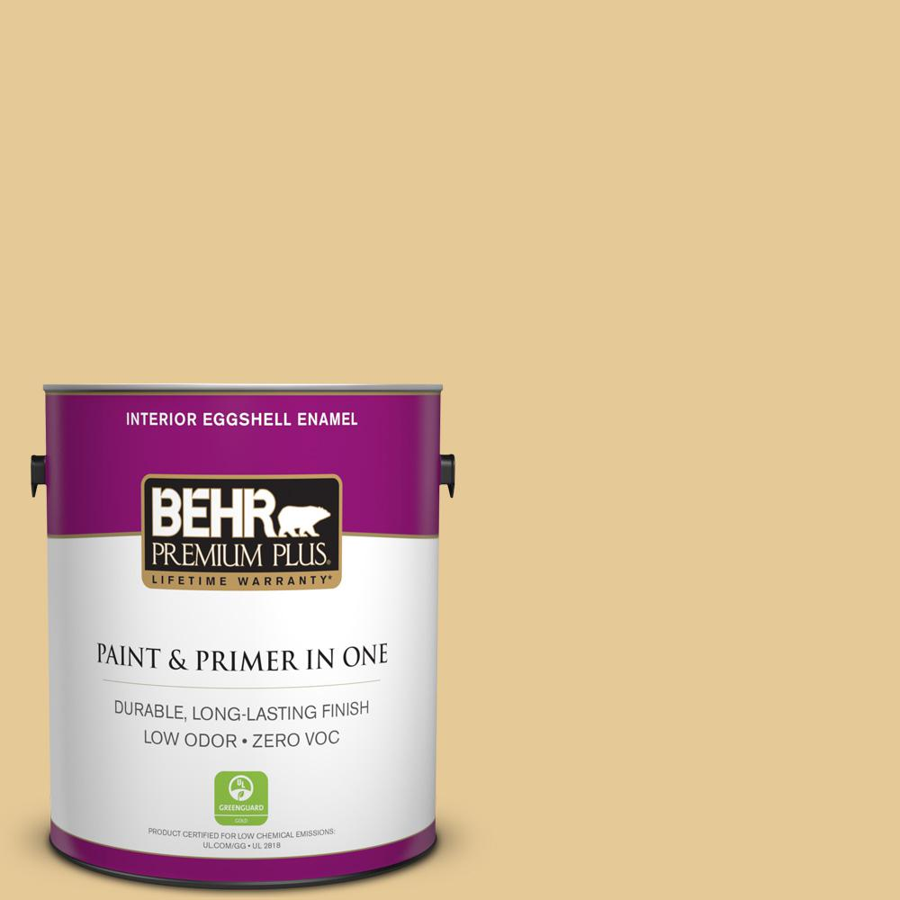 1 gal. #M320-4 Abstract Eggshell Enamel Zero VOC Interior Paint and