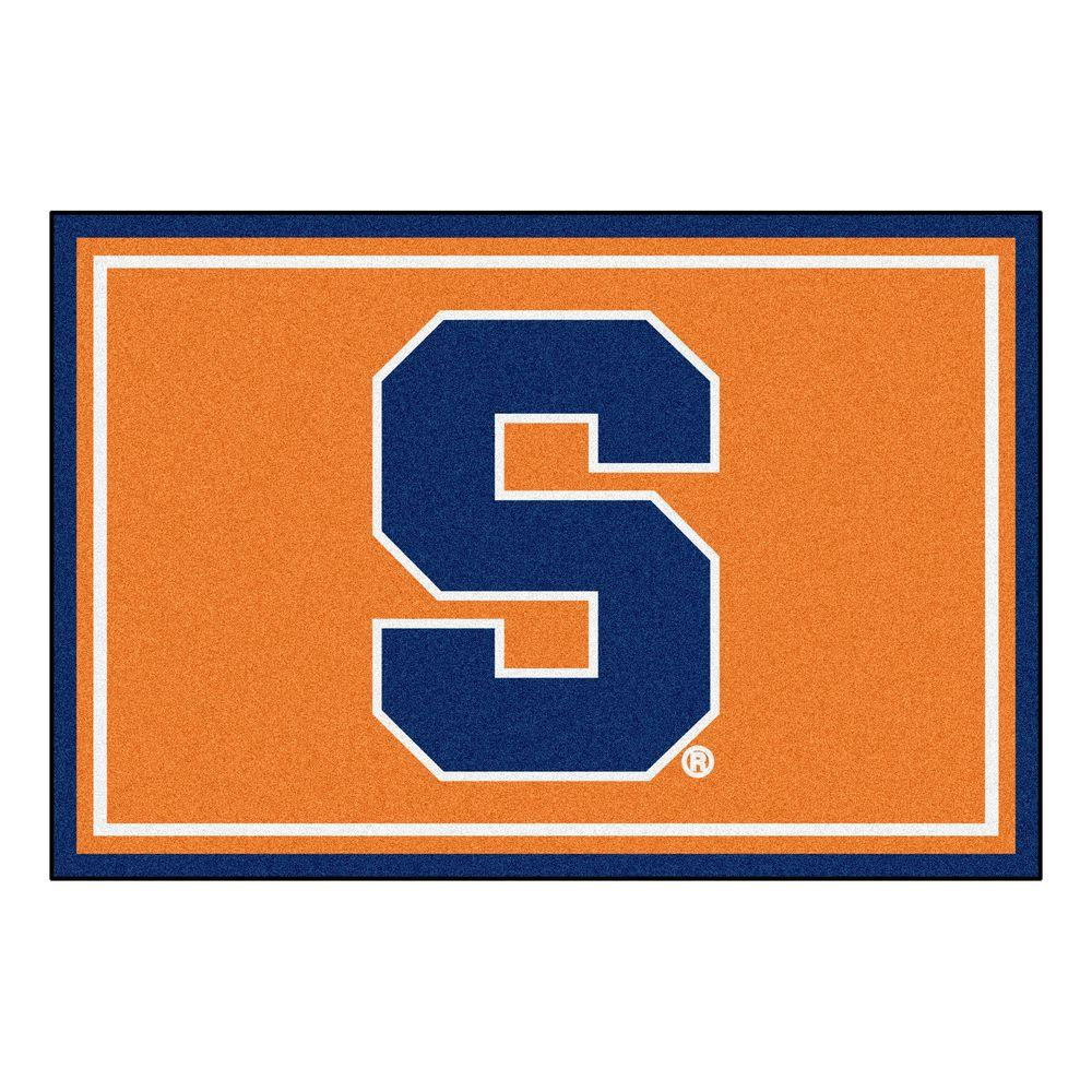 Syracuse Orange Area Rug At Home Depot Com