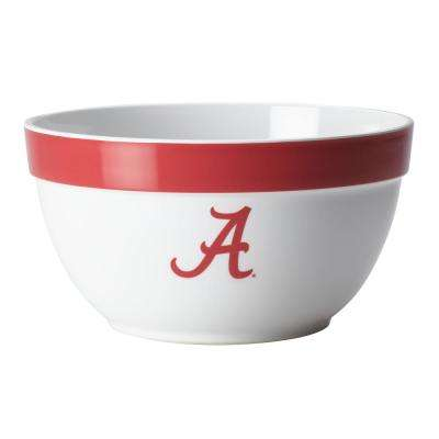 Alabama Big Party Bowl, 4.75-Quart, Crimson Red