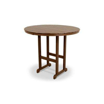Monterey Bay Tree House 48 in. Round Patio Bar Table