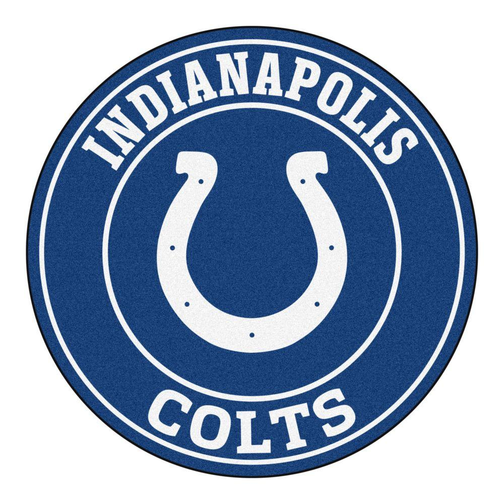 Fanmats Nfl Indianapolis Colts Blue 2 Ft 3 In X 2 Ft 3