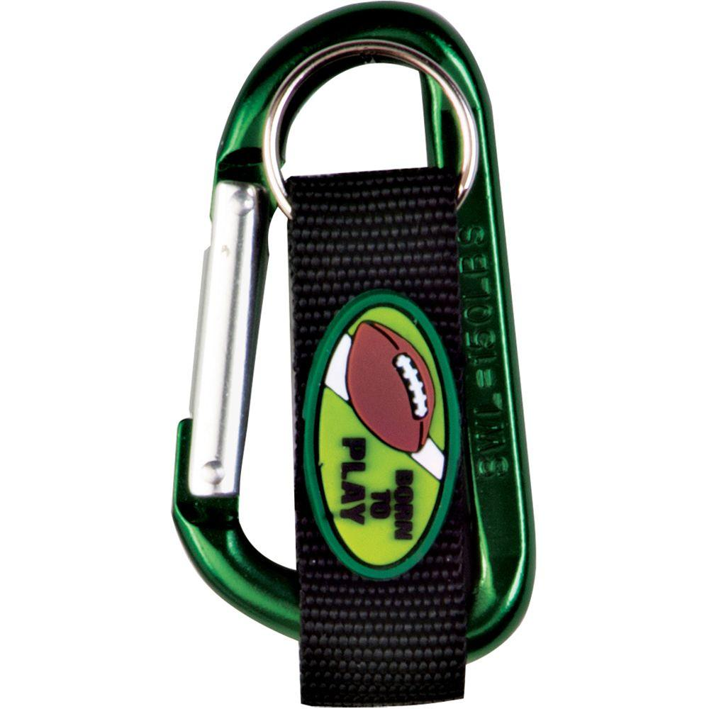 Football C-Clip Key Ring