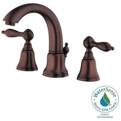 Fairmont 8 in. Widespread 2-Handle Mid-Arc Bathroom Faucet in Oil Rubbed Bronze