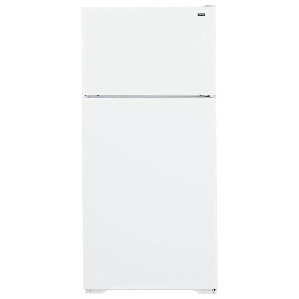 Hotpoint 28 in. W 15.6 cu. ft. Top Freezer Refrigerator in White