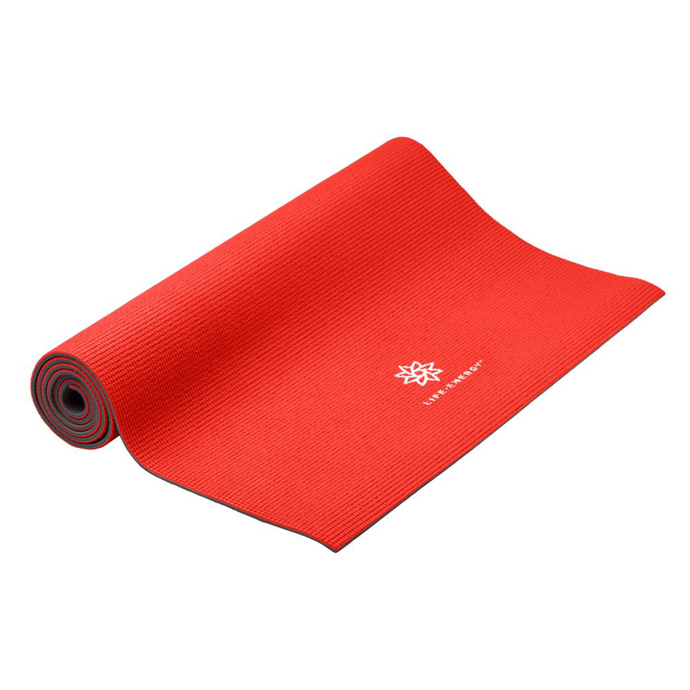 6 mm Reversible Eco-Friendly Ruby Yoga Mat