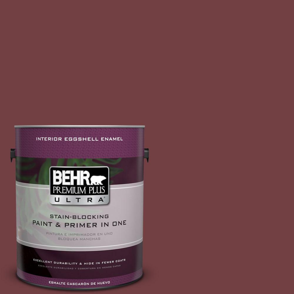 BEHR Premium Plus Ultra 1-gal. #ECC-24-3 Autumn Hills Eggshell Enamel Interior Paint