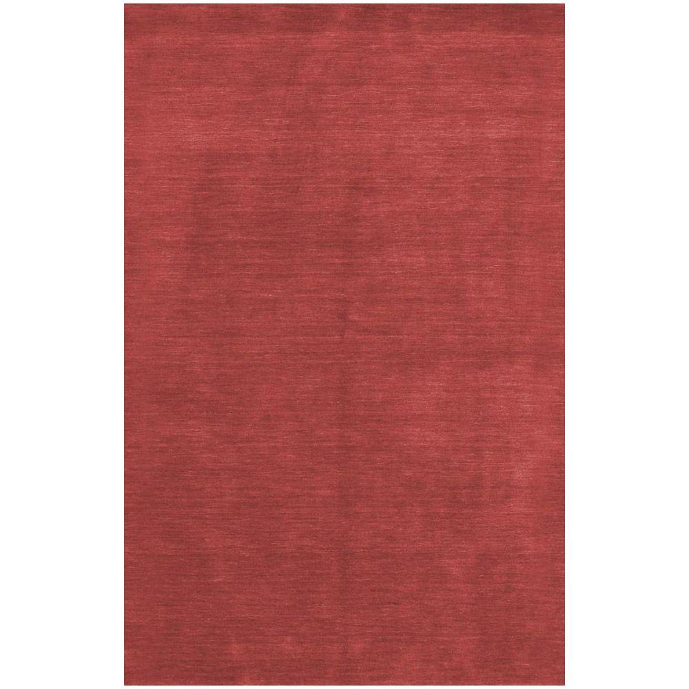 BASHIAN Contempo Collection Red Ombre Red 2 ft. 6 in. x 8 ft. Area Rug