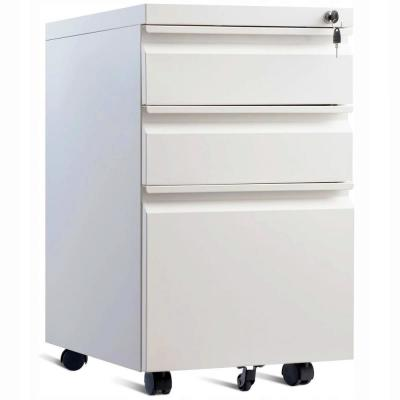 3 Metal File Cabinets Home Office Furniture The Home Depot