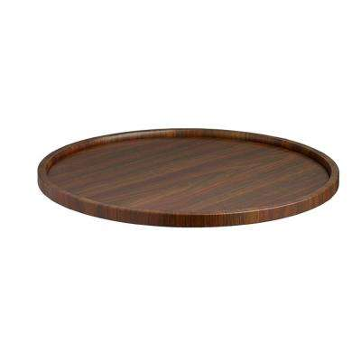 Woodcraft Walnut 14 in. Serving Tray