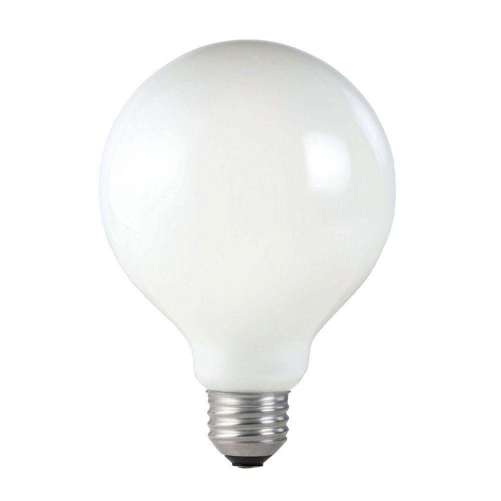 Philips Duramax 60 Watt Incandescent G30 White Long Life Globe Light Bulb 6 Pack 168492 The
