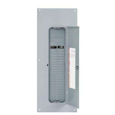 Homeline 225 Amp 40-Space 80-Circuit Indoor Main Lug Plug-On Neutral Load Center with Cover