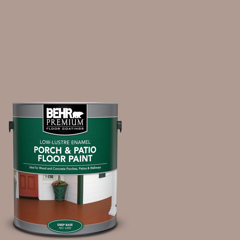 Reviews For Behr Premium 1 Gal N170 4 Coffee With Cream Low Lustre Enamel Interior Exterior Porch And Patio Floor Paint 630001 The Home Depot