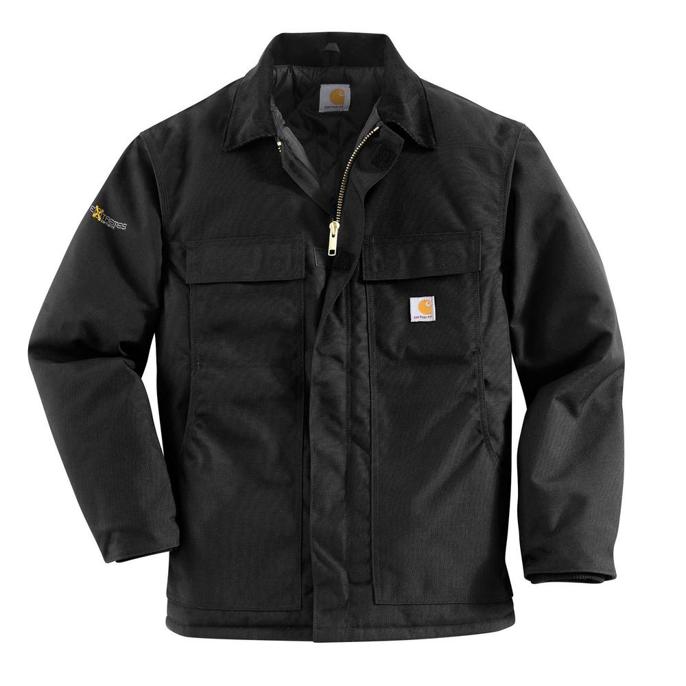 f82d31c86391 Carhartt Men S Extra Large Tall Black Nylon Arctic Quilt Lined Yukon ...