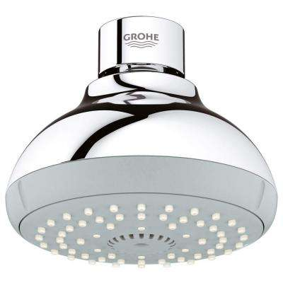 New Tempesta 100 4-Spray 4 in. Showerhead in StarLight Chrome