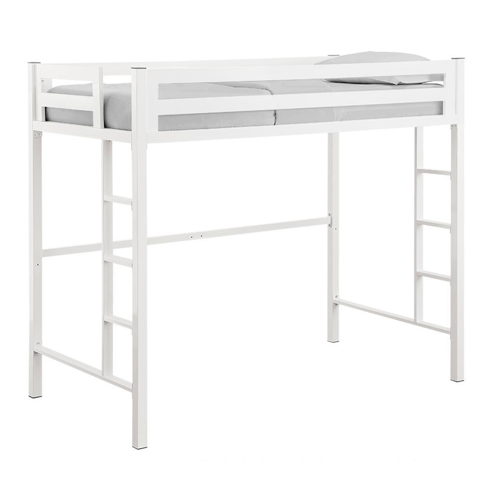 Walker Edison Furniture Company Bentley Twin Metal Loft Bed