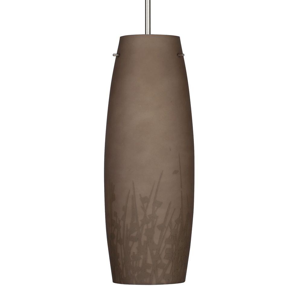 Aspects Nia 1-Light Brown Hanging Pendant