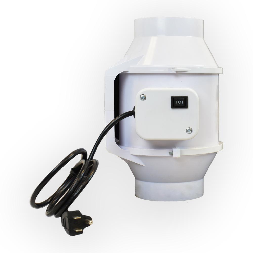 4 in. 105 CFM Ceiling or Wall Inline Bathroom Exhaust Fan