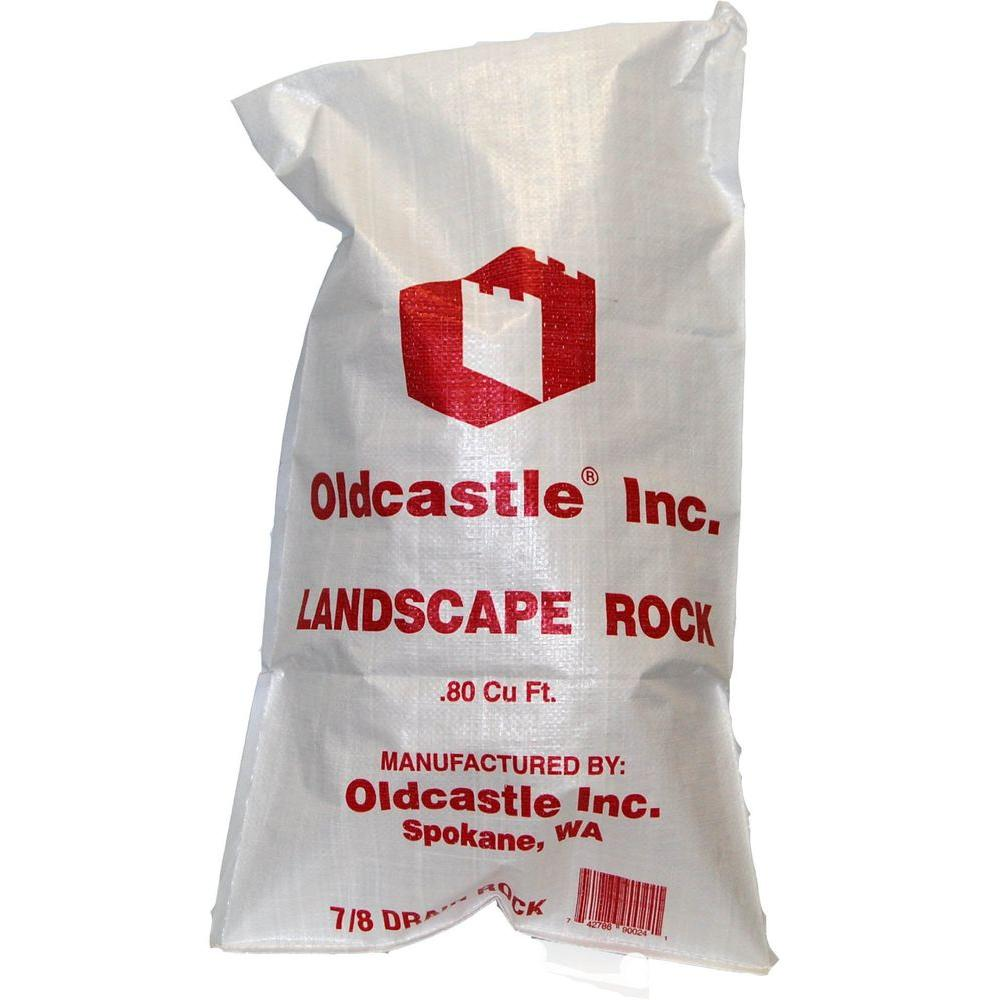 Oldcastle 0.8 cu. ft. 7/8 in. Drainage Rock