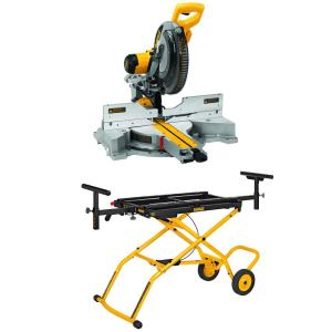 Deals on Dewalt 15-Amp Corded 12 in. Sliding Compound Miter Saw w/Stand
