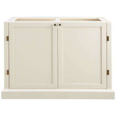 Prescott Polar White Modular 2 Shelf Pantry Base