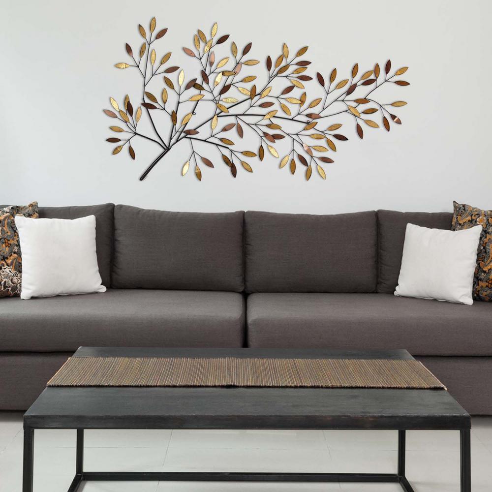 Blooming Tree Branch Metal Wall Decor