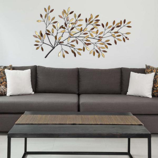 Stratton Home Decor Blooming Tree Branch Metal Wall