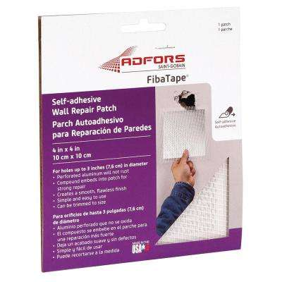 4 in. x 4 in. Self-Adhesive Wall and Ceiling Repair Patch